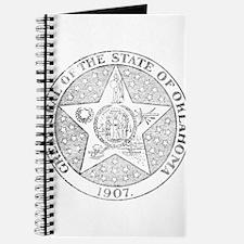 Vintage Oklahoma State Seal Journal