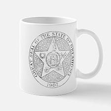 Vintage Oklahoma State Seal Mug