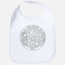 Vintage Oklahoma State Seal Bib