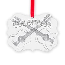 Oklahoma Guitars Ornament