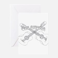Oklahoma Guitars Greeting Card