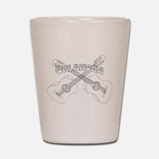 Oklahoma Guitars Shot Glass