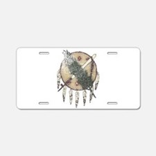 Faded Dreamcatcher Aluminum License Plate