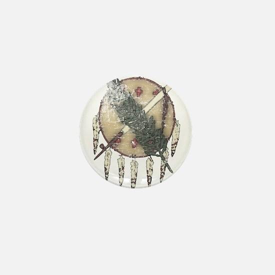 Faded Dreamcatcher Mini Button