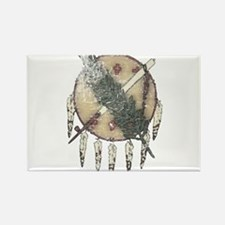 Faded Dreamcatcher Rectangle Magnet