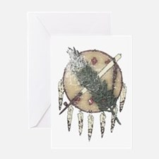 Faded Dreamcatcher Greeting Card
