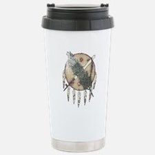 Faded Dreamcatcher Stainless Steel Travel Mug