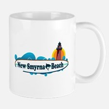 New Smyrna Beach - Surf Design. Mug