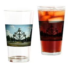 Atomium Drinking Glass
