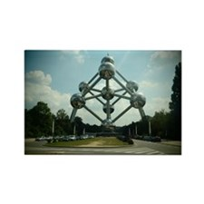 Atomium Rectangle Magnet