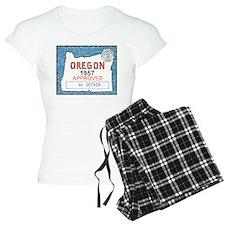 Vintage Oregon Registration Pajamas