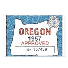 Vintage Oregon Registration Postcards (Package of