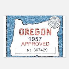 Vintage Oregon Registration Postcards (Package of