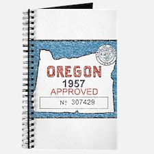 Vintage Oregon Registration Journal