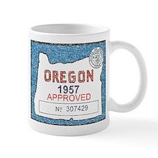 Vintage Oregon Registration Mug