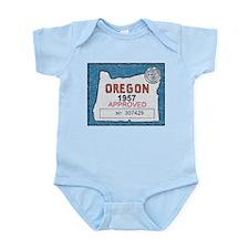 Vintage Oregon Registration Body Suit