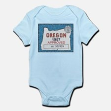 Vintage Oregon Registration Body Suit