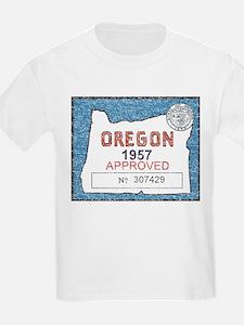 Vintage Oregon Registration T-Shirt