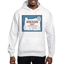 Vintage Oregon Registration Hoodie