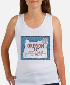 Vintage Oregon Registration Tank Top
