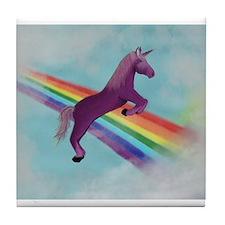 Roar! I'm a Unicorn Tile Coaster