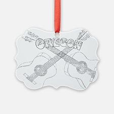 Oregon Guitars Ornament