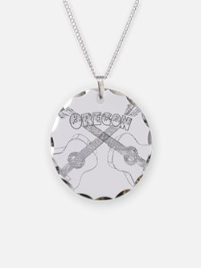 Oregon Guitars Necklace