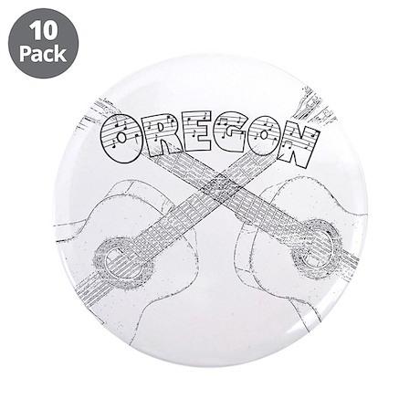 """Oregon Guitars 3.5"""" Button (10 pack)"""