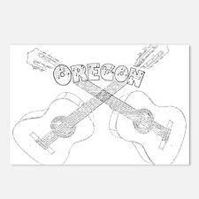 Oregon Guitars Postcards (Package of 8)