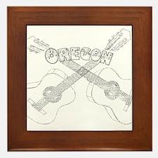Oregon Guitars Framed Tile