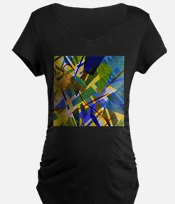 The City I Abstract T-Shirt