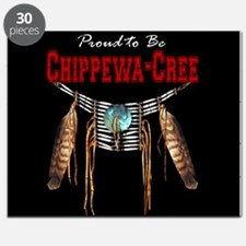 Proud to be Chippewa-Cree Puzzle