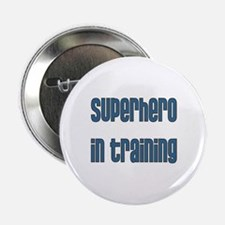 Superhero in Training Button