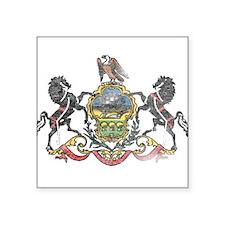 Pennsylvania Vintage State Flag Sticker