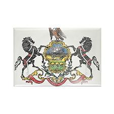 Pennsylvania Vintage State Flag Rectangle Magnet