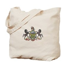 Pennsylvania Vintage State Flag Tote Bag