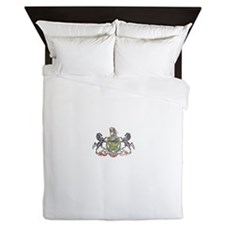 Pennsylvania Vintage State Flag Queen Duvet