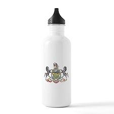 Pennsylvania Vintage State Flag Water Bottle