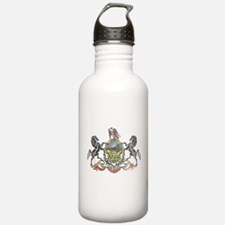 Pennsylvania Vintage State Flag Water Bottle