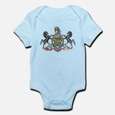 Pennsylvania Vintage State Flag Body Suit
