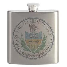 Vintage Pennsylvania Seal Flask
