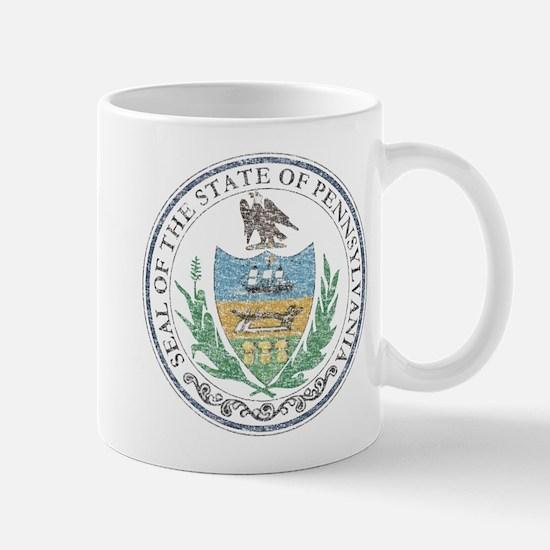 Vintage Pennsylvania Seal Mug