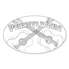 Pennsylvania Guitars Decal