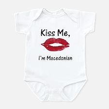 Kiss Me, I'm Macedonian Infant Bodysuit