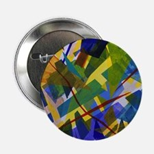 """The City I Abstract 2.25"""" Button"""