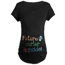 Curler Maternity T-Shirt