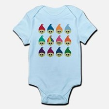 Troll Army Rainbow Infant Bodysuit