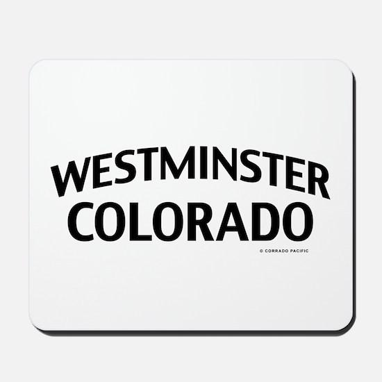 Westminster Colorado Mousepad