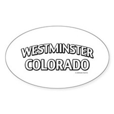 Westminster Colorado Decal