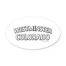 Westminster Colorado Oval Car Magnet
